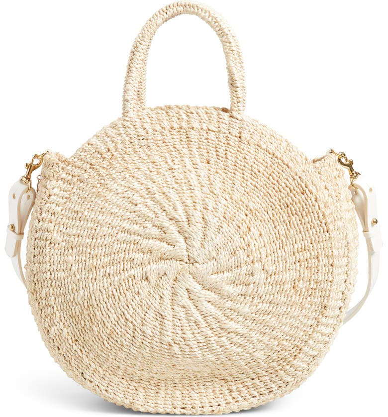 CLARE V. Alice Sisal Tote, Main, color, 250