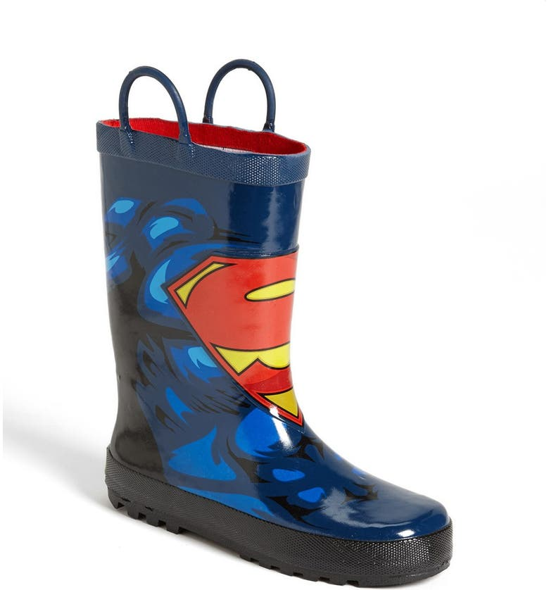 WESTERN CHIEF 'Superman Forever' Rain Boot, Main, color, Blue