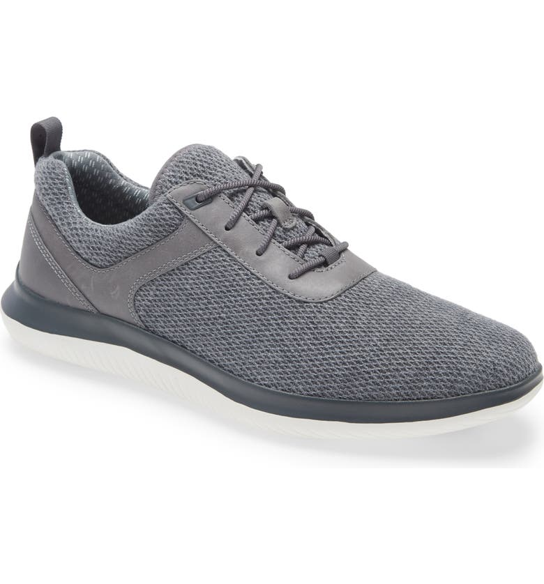 JOHNSTON & MURPHY Ethan Sneaker, Main, color, GRAY KNIT