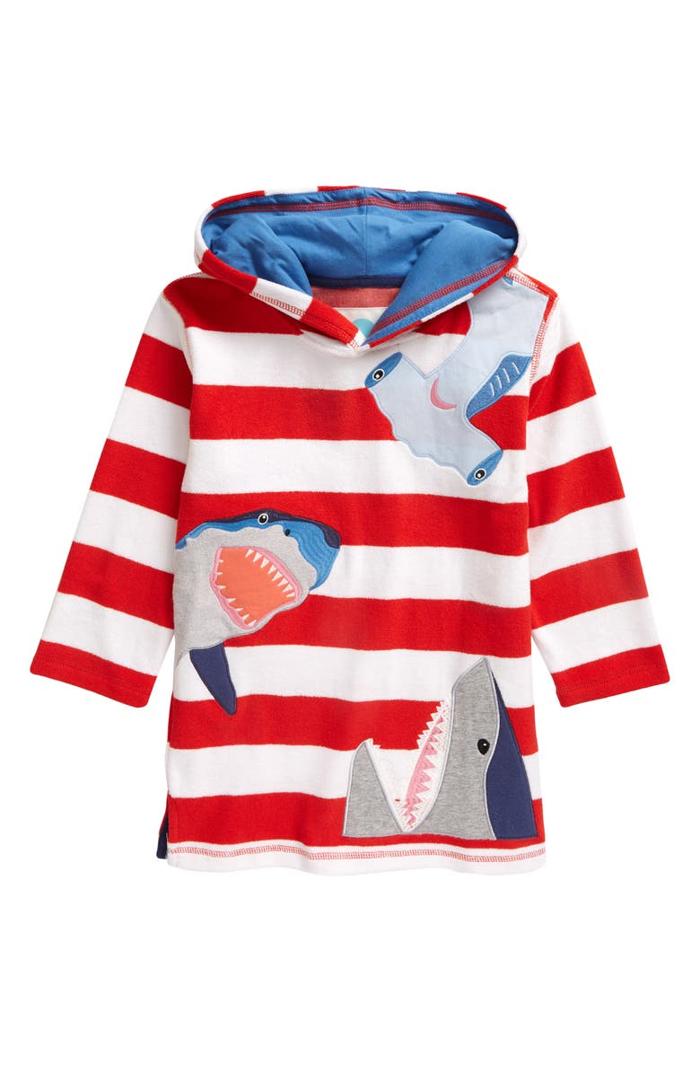 MINI BODEN Boden Kids' Toweling Throw-On Cover-Up, Main, color, 600