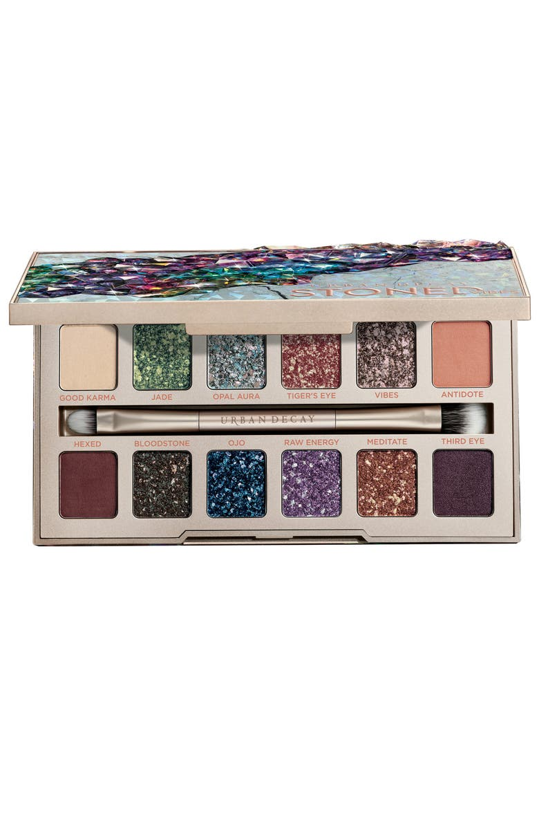 URBAN DECAY Stoned Vibes Eyeshadow Palette, Main, color, 000
