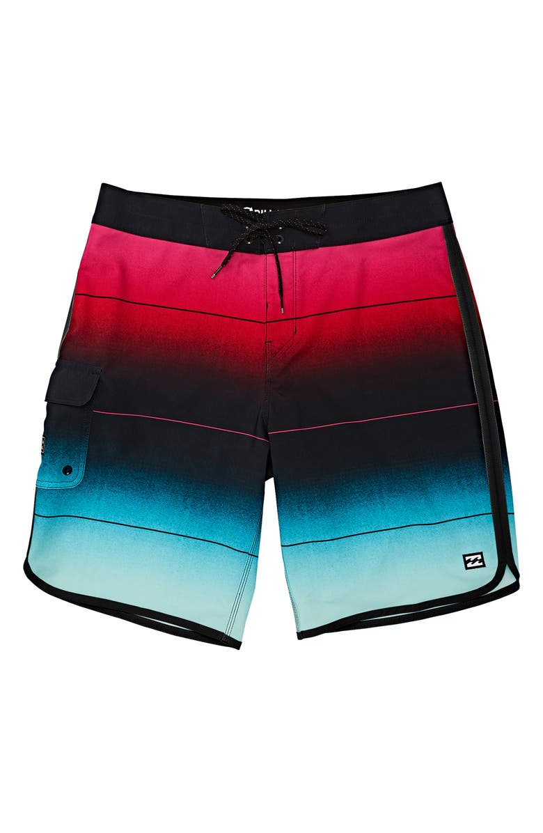 BILLABONG 73 Stripe Pro Board Shorts, Main, color, 314