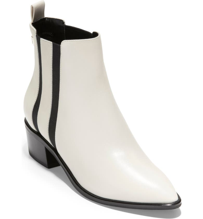 COLE HAAN Valorie Bootie, Main, color, IVORY LEATHER