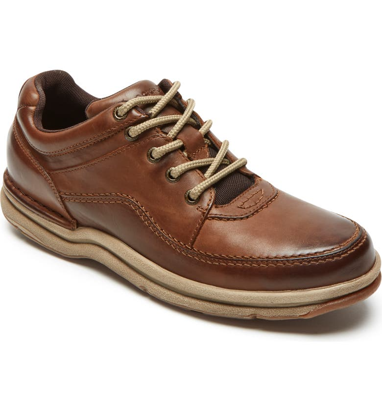 ROCKPORT 'World Tour Classic' Oxford, Main, color, BROWN LEATHER