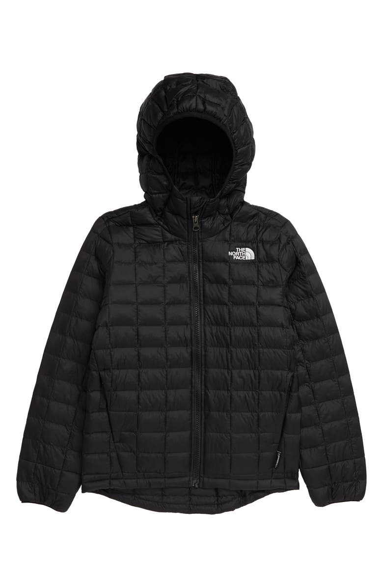 THE NORTH FACE Kids' ThermoBall<sup>™</sup> Eco Water Repellent Parka, Main, color, 001