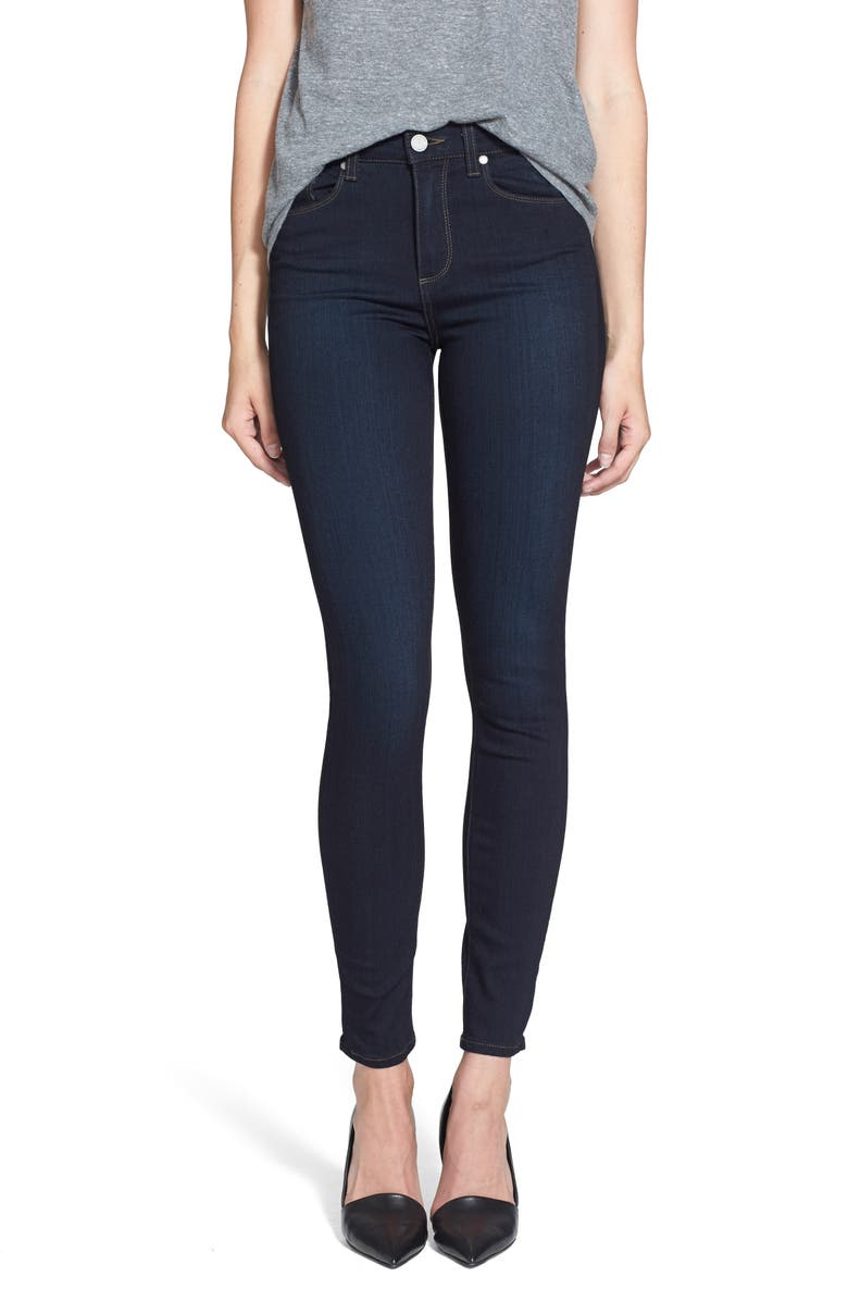 PAIGE Transcend - Hoxton High Waist Ultra Skinny Jeans, Main, color, MONA