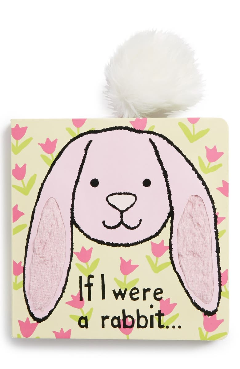 JELLYCAT 'If I Were a Rabbit…' Book, Main, color, 000