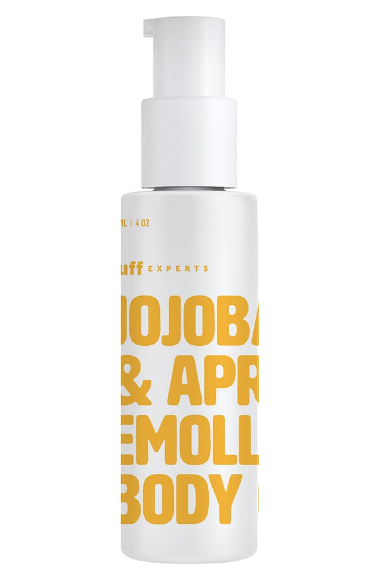 BUFF EXPERTS Jojoba & Apricot Emollient Body Oil, Main, color, 000