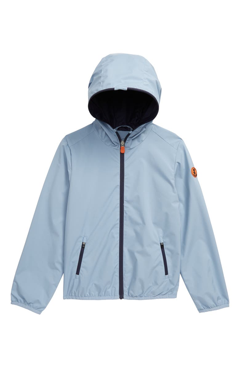 SAVE THE DUCK Lightweight Water Resistant Windbreaker, Main, color, 425