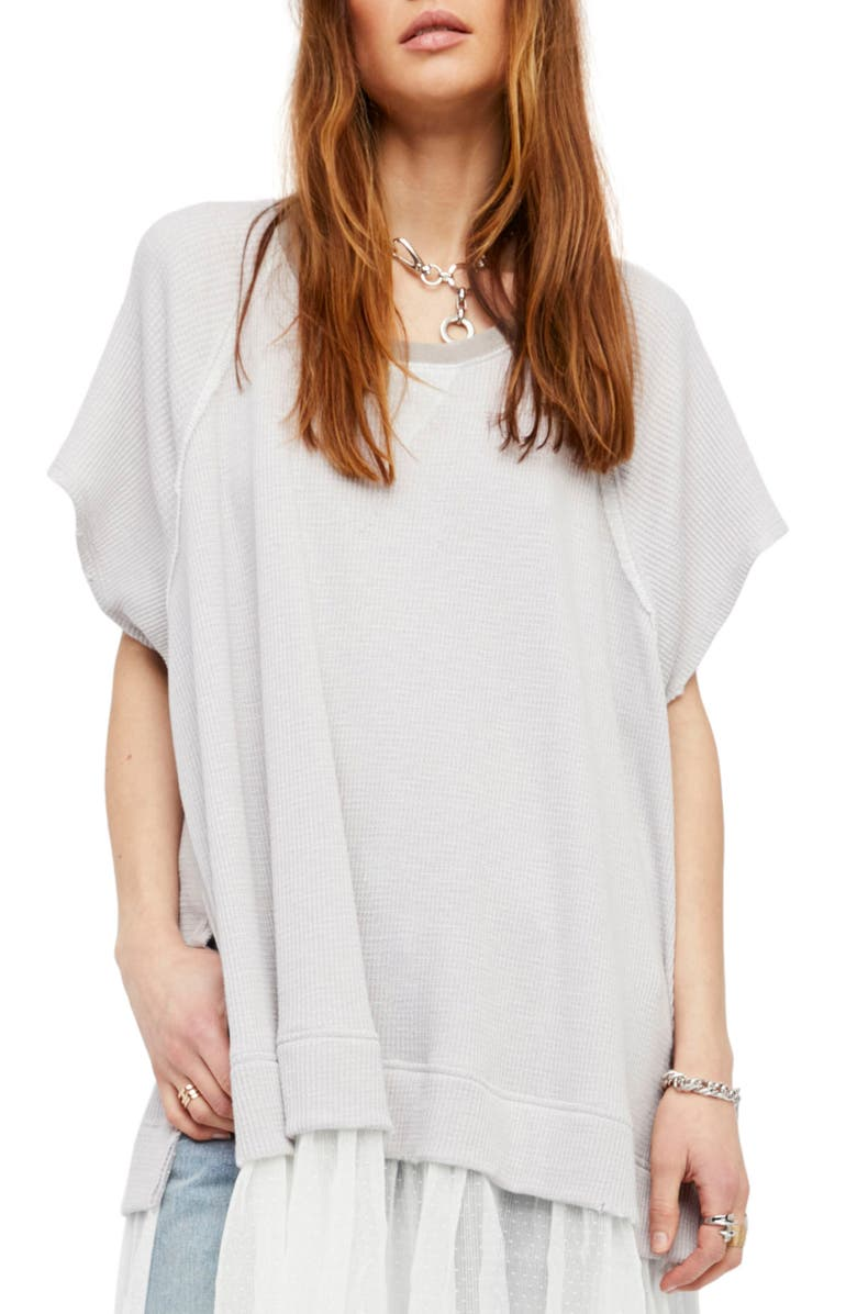 FREE PEOPLE Dance With Me Tee, Main, color, 100