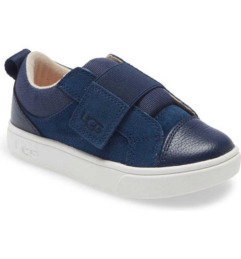 UGG<SUP>®</SUP> Rennon Low Top Sneaker, Main, color, NAVY
