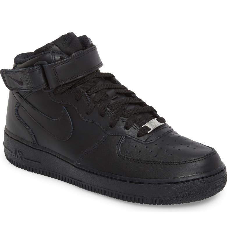NIKE Air Force 1 Mid '07 Sneaker, Main, color, 001