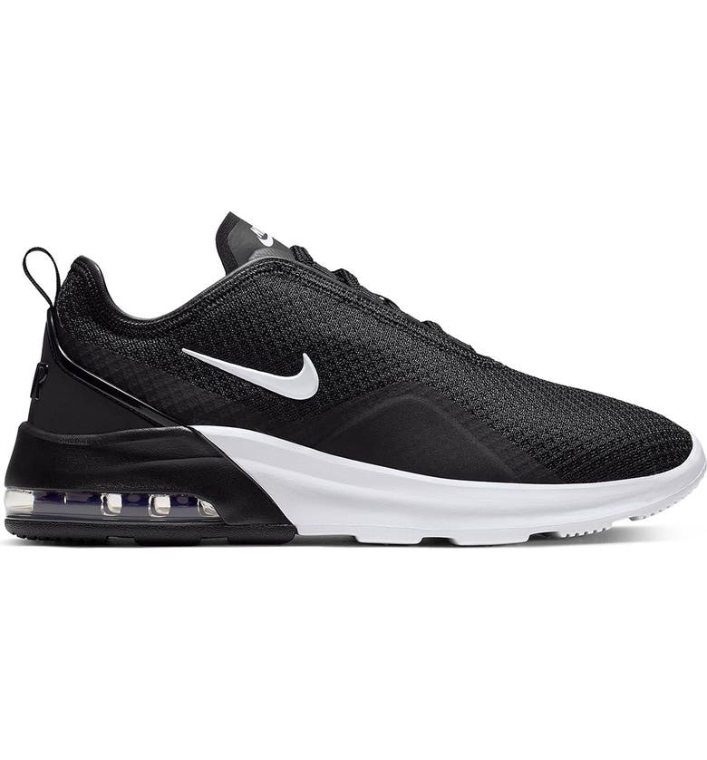 NIKE Air Max Motion 2 Athletic Sneaker, Main, color, 007 BLACK/WHITE