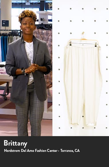 Tapered Pants with Side Slits, sales video thumbnail