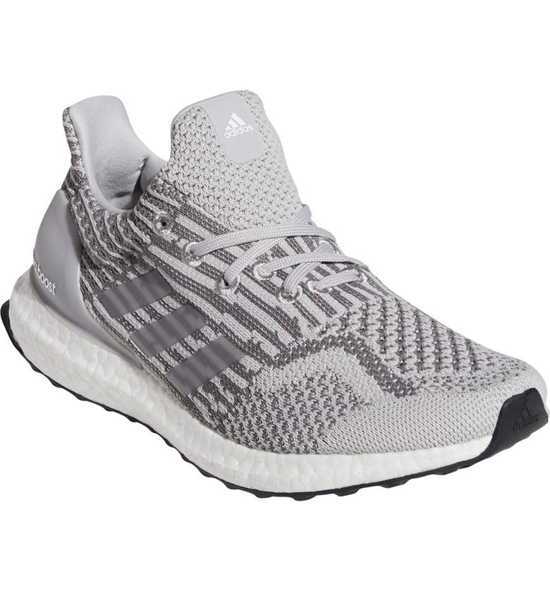 ADIDAS UltraBoost DNA Primeblue Running Shoe, Main, color, GREY/ WHITE/ GREY