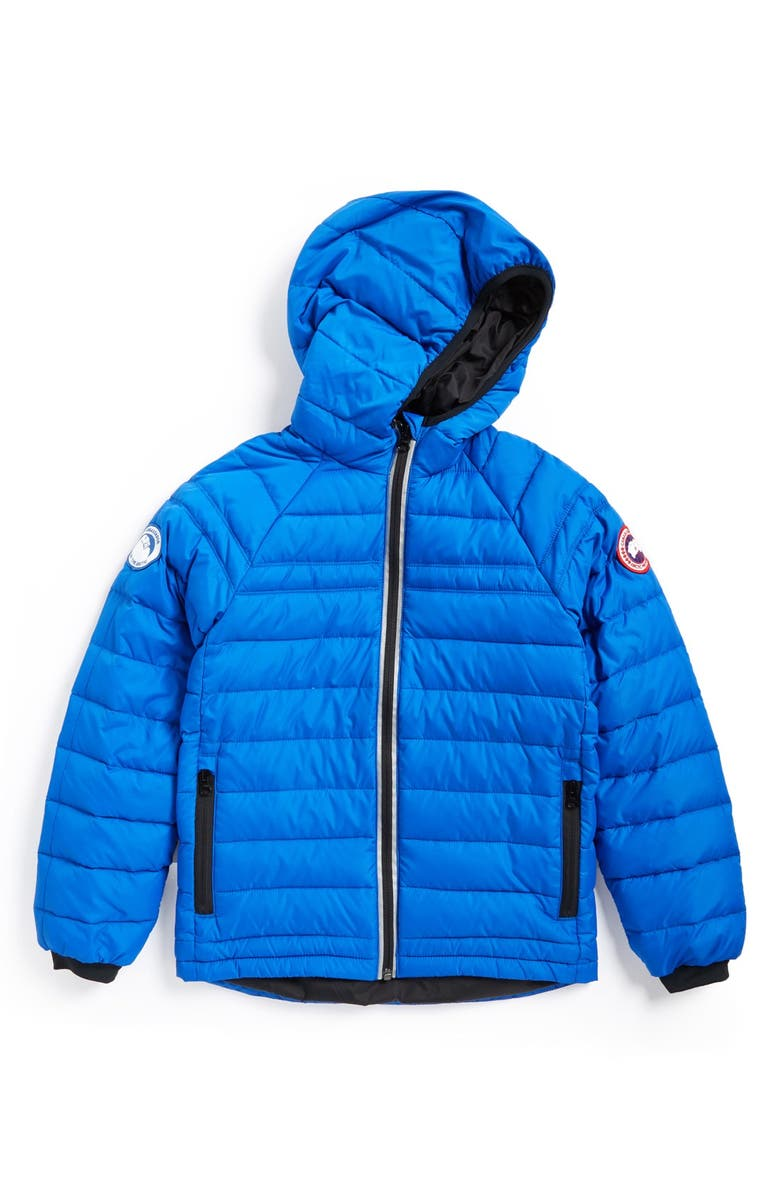 CANADA GOOSE Sherwood Hooded Packable Jacket, Main, color, ROYAL BLUE
