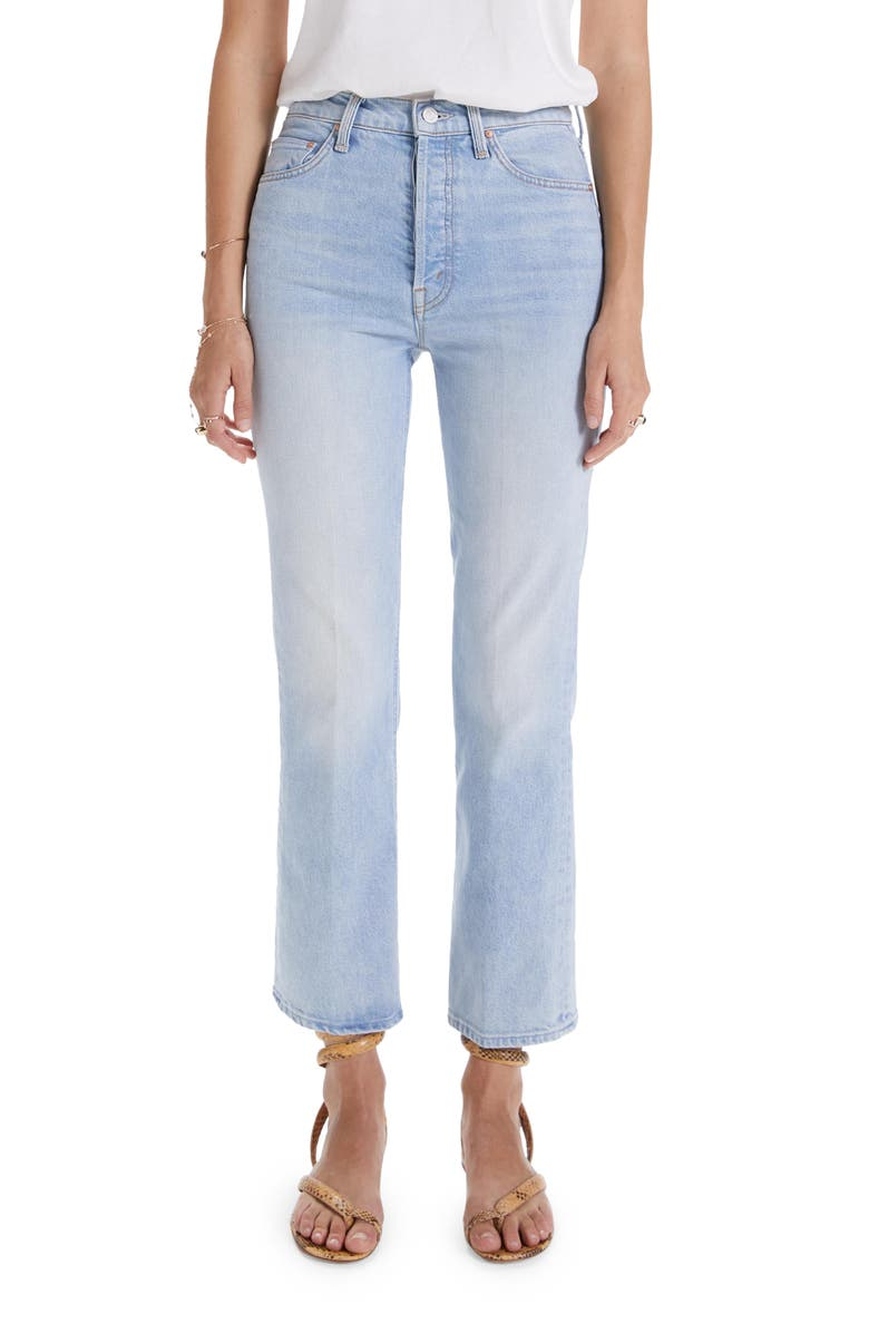 MOTHER The Tripper Crop Bootcut Jeans, Main, color, REAP WHAT YOU SOW