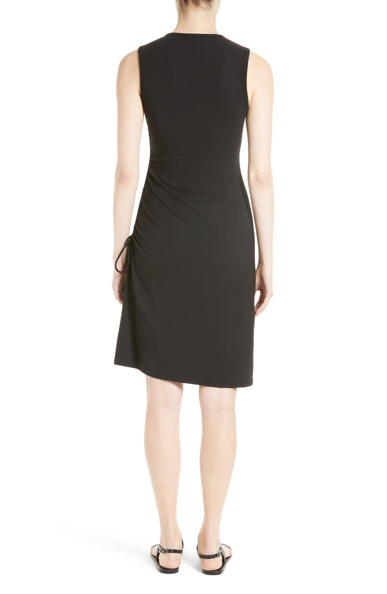 THEORY Rimaeya DR Rubric Side Tie Dress, Main, color, 001