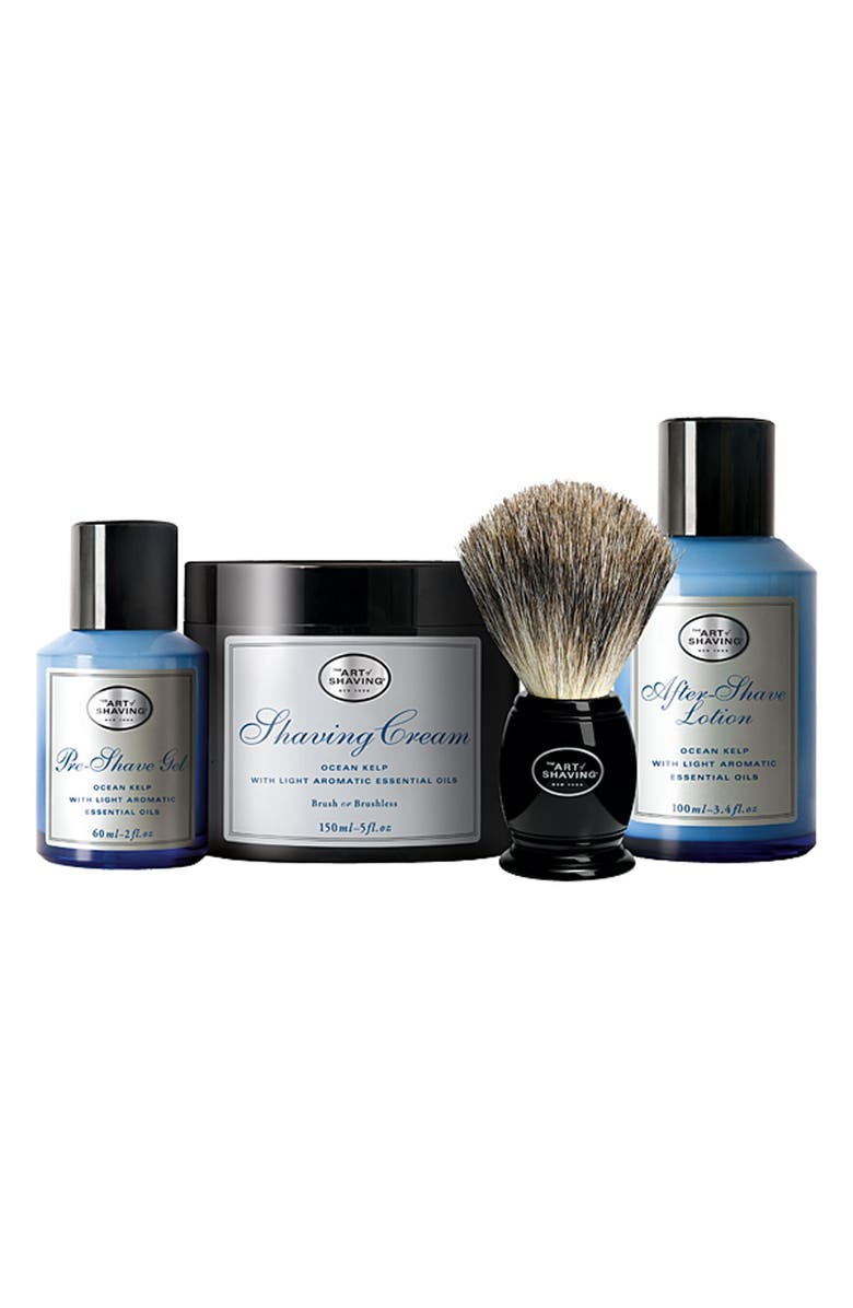 THE ART OF SHAVING <sup>®</sup> 'The Four Elements of the Perfect Shave<sup>®</sup>' Ocean Kelp Set, Main, color, No Color