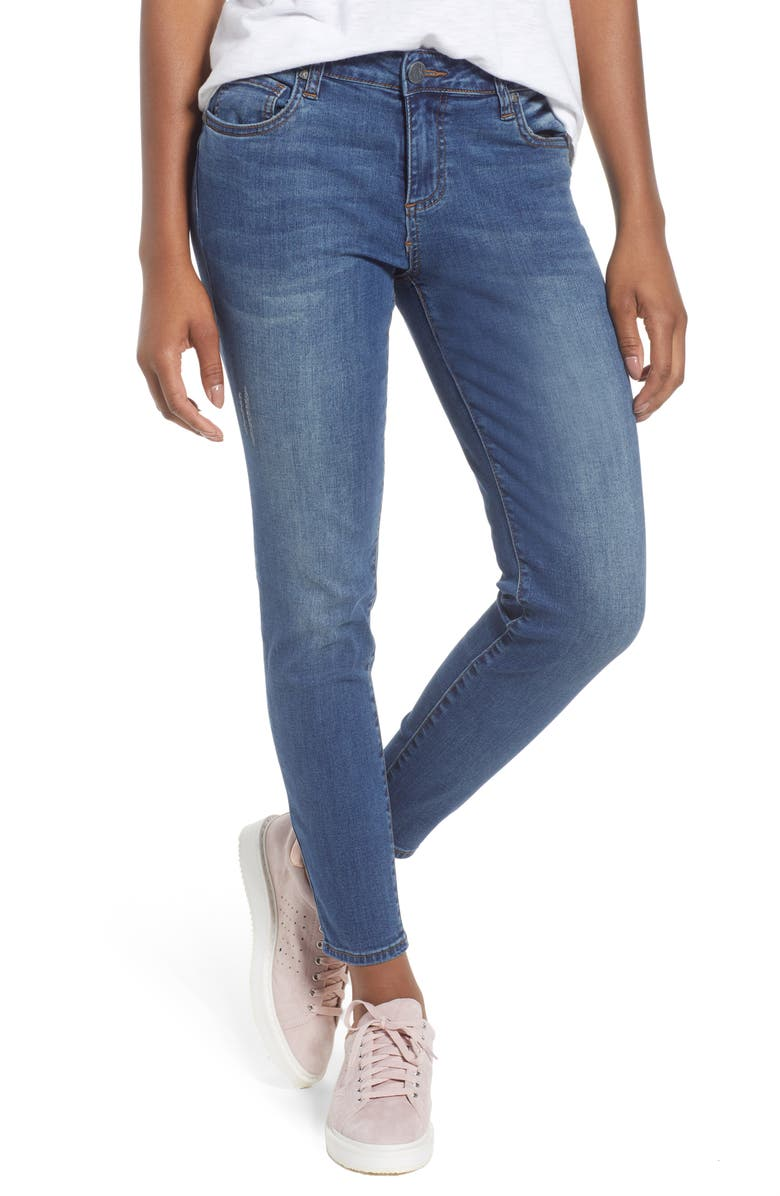 KUT FROM THE KLOTH Donna Skinny Ankle Jeans, Main, color, 460
