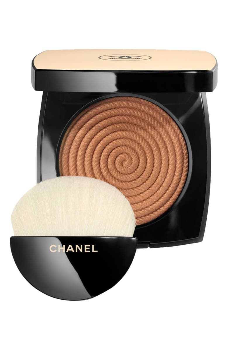 CHANEL LES BEIGES Healthy Glow Illuminating Bronzing Powder, Main, color, T2 SUNSET