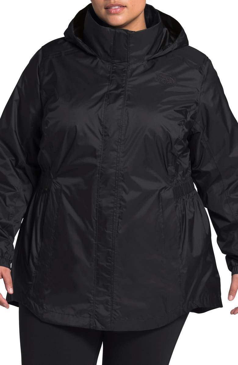 THE NORTH FACE Resolve II Hooded Waterproof & Windproof Parka, Main, color, 001