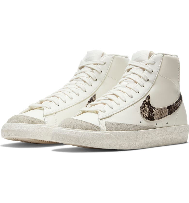NIKE Blazer Mid '77 SE High Top Sneaker, Main, color, SAIL/ PARTICLE BEIGE