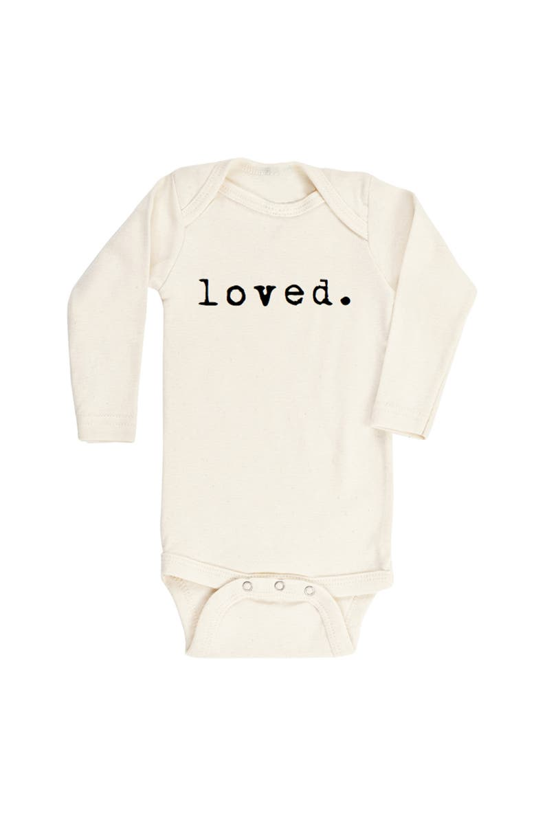 TENTH & PINE Loved Organic Cotton Bodysuit, Main, color, NATURAL