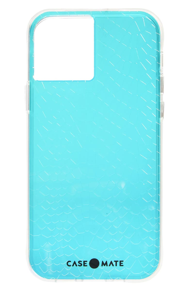 CASE-MATE<SUP>®</SUP> Iridescent Snakeskin Textured iPhone 12/12 Pro Case, Main, color, IRIDESCENT SNAKE