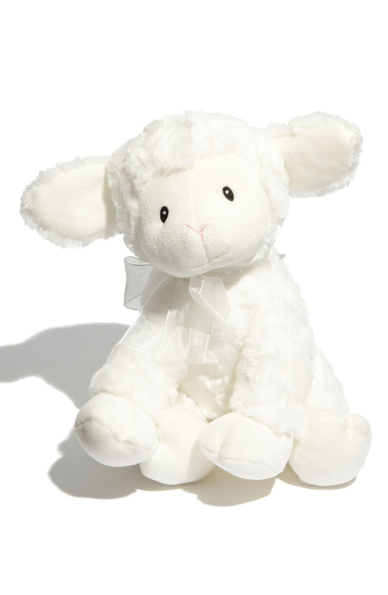 GUND Baby Gund 'Brahms' Musical Lamb, Main, color, NO COLOR