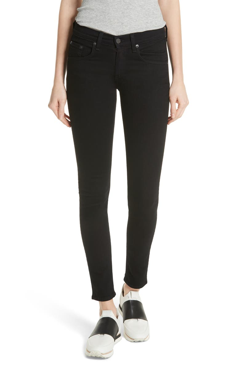 RAG & BONE 'The Skinny' Stretch Jeans, Main, color, 002