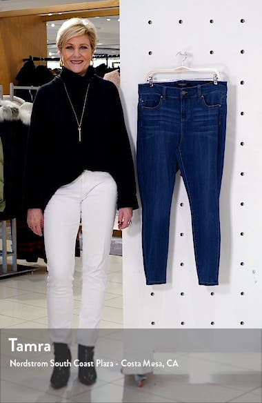 Abby Stretch Ankle Skinny Jeans, sales video thumbnail