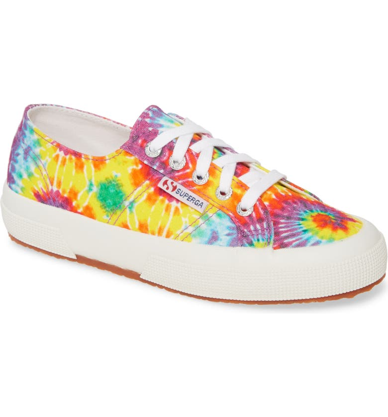 SUPERGA 2750 Fabricfaintiedtye Sneaker, Main, color, 500