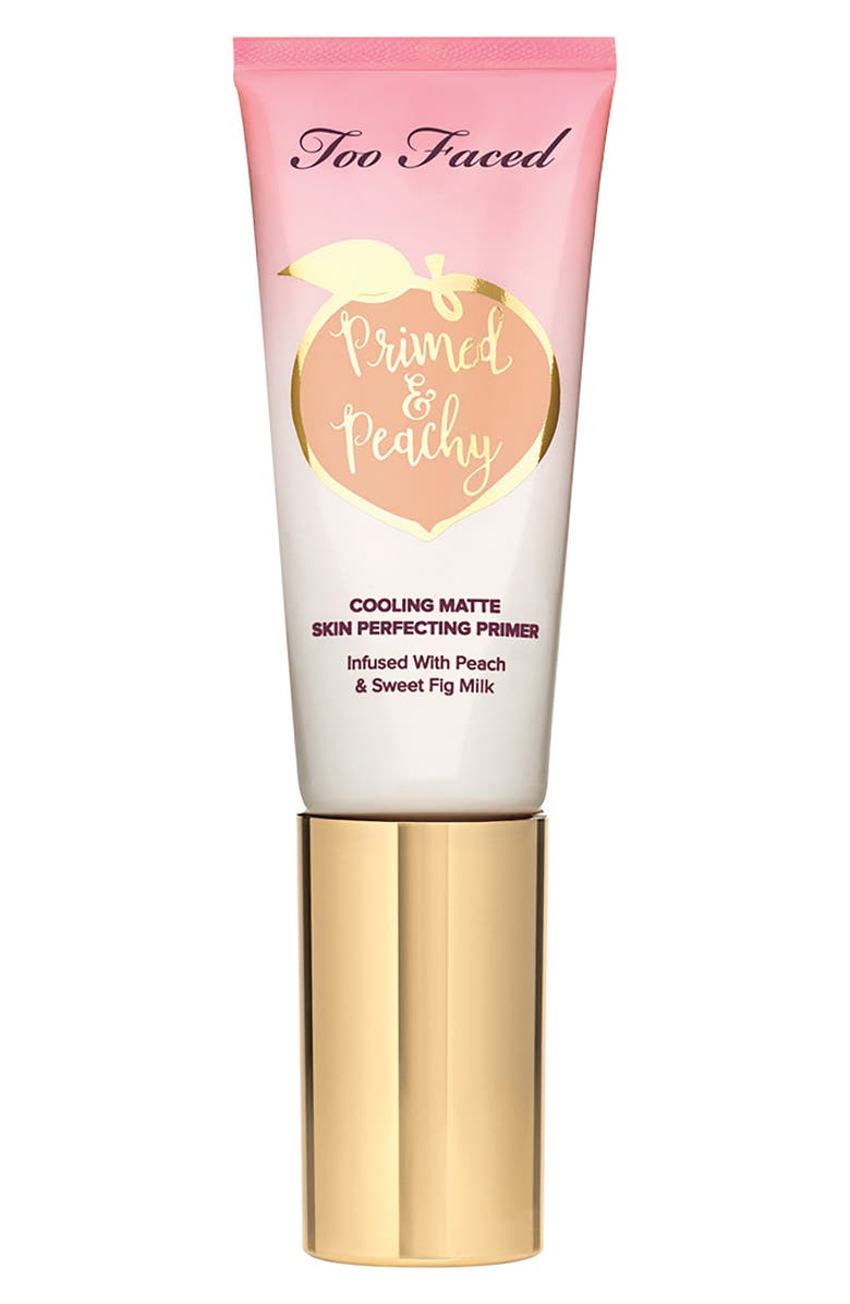 TOO FACED Primed & Peachy Primer - Travel Size, Main, color, NO COLOR