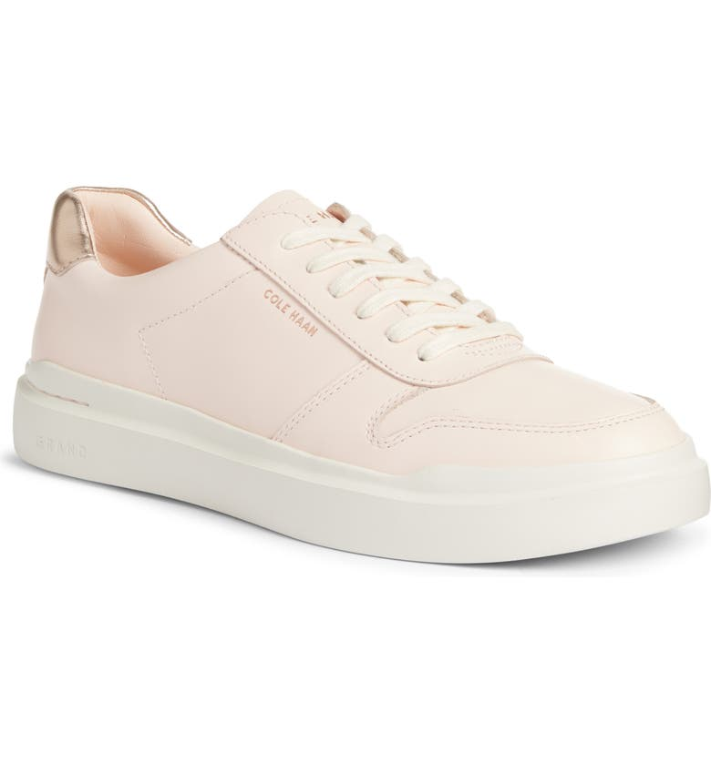 COLE HAAN GrandPro Rally Sneaker, Main, color, ROSE GOLD LEATHER