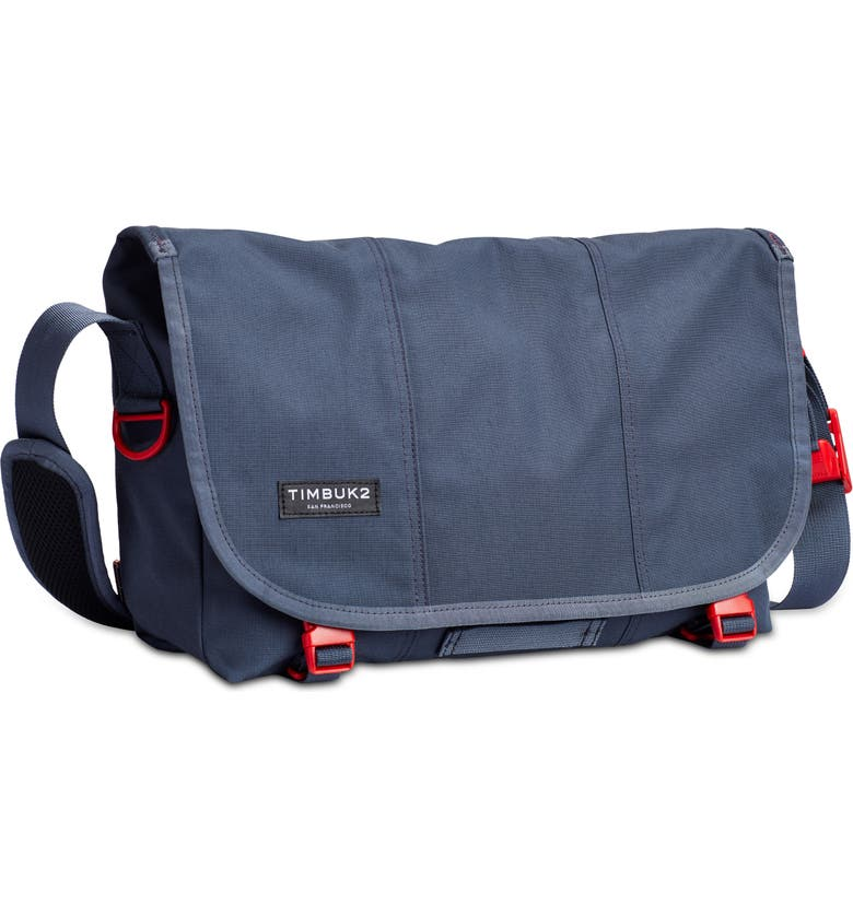 TIMBUK2 Flight Classic Messenger Bag, Main, color, GRANITE/ FLAME