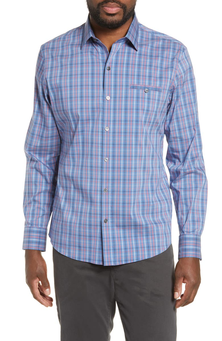 ZACHARY PRELL Guastella Regular Fit Shirt, Main, color, 431