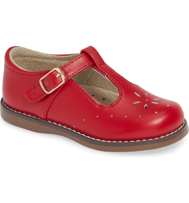 FOOTMATES Sherry Mary Jane, Main, color, APPLE RED