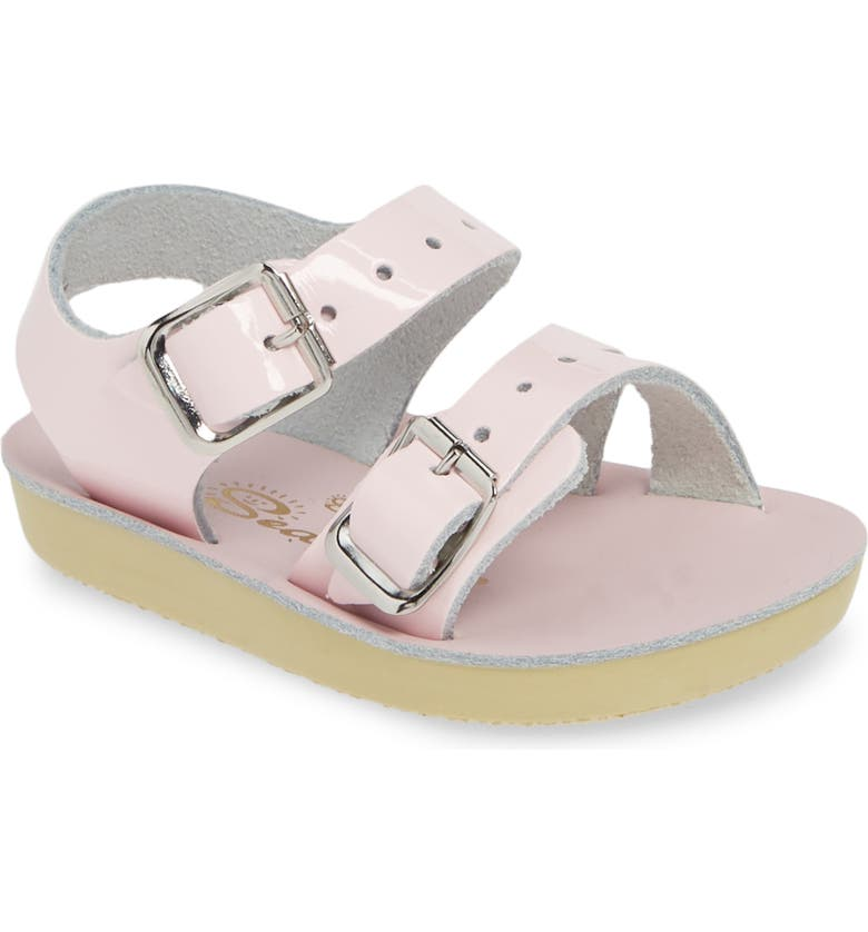 SALT WATER SANDALS BY HOY Sea Wee Water Friendly Sandal, Main, color, PINK/ SHINY