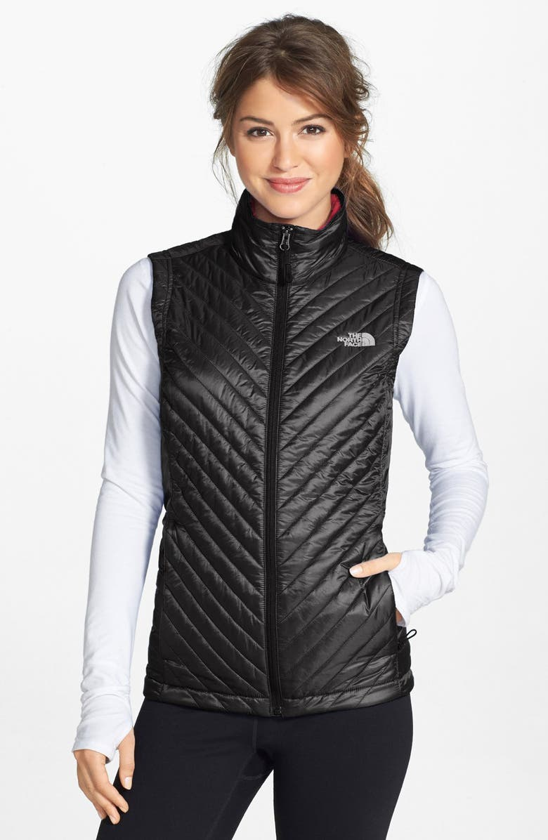 THE NORTH FACE 'Kayla' Quilted Vest, Main, color, 001