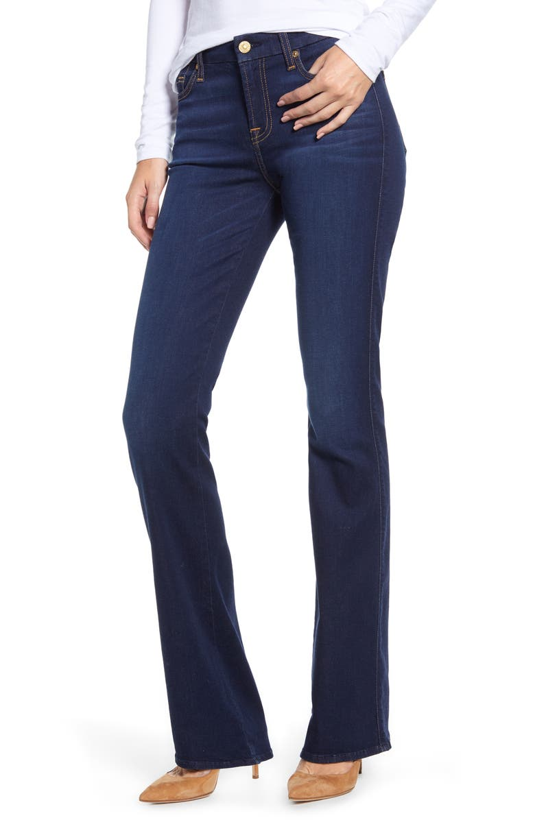 7 FOR ALL MANKIND<SUP>®</SUP> 'Slim Illusion Luxe - Kimmie' Bootcut Jeans, Main, color, 402