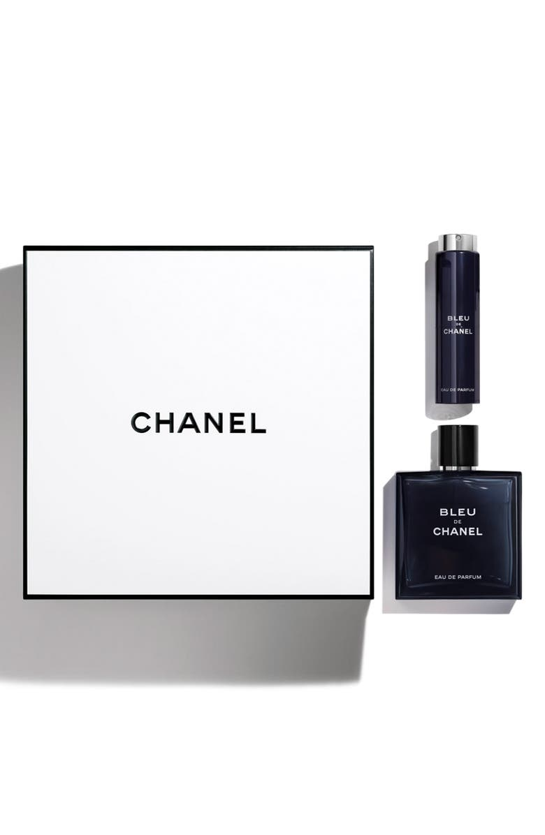 CHANEL BLEU DE CHANEL <br />Eau de Parfum pour Homme Travel Spray Set, Main, color, NO COLOR