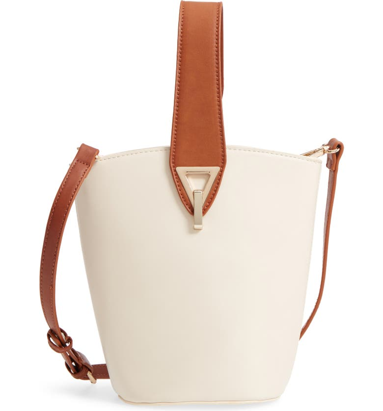 STREET LEVEL Top Handle Bucket Bag, Main, color, 250