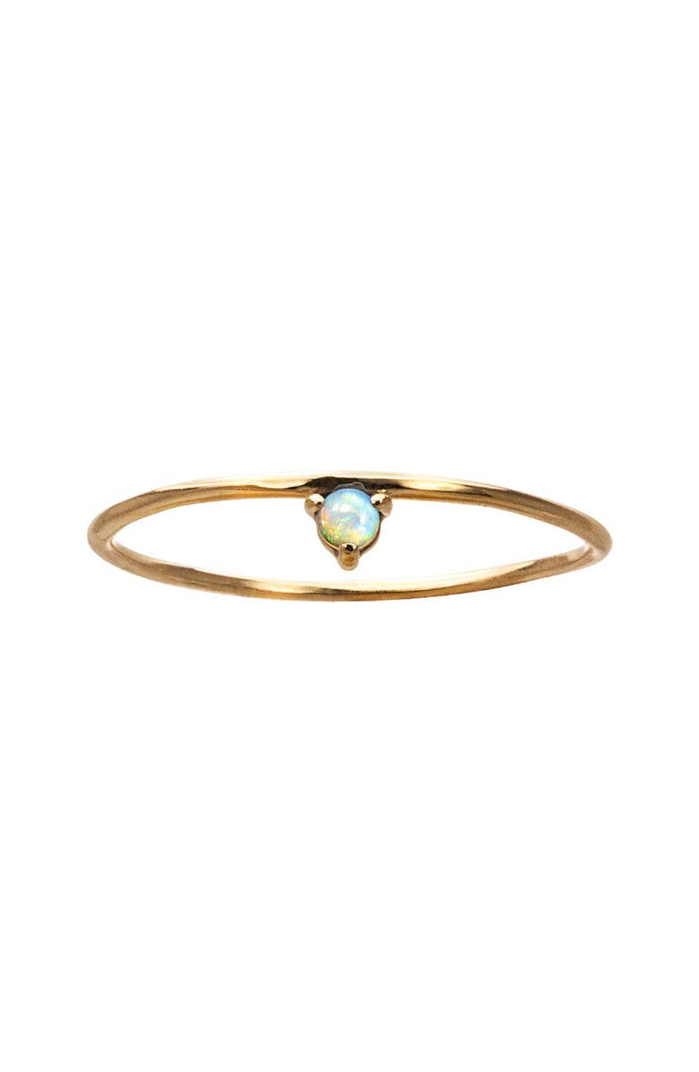 WWAKE Counting Collection One-Step Opal Ring, Main, color, 710