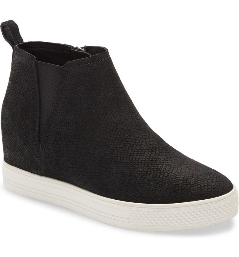 CASLON<SUP>®</SUP> Aidy Water Resistant Wedge Sneaker, Main, color, 001
