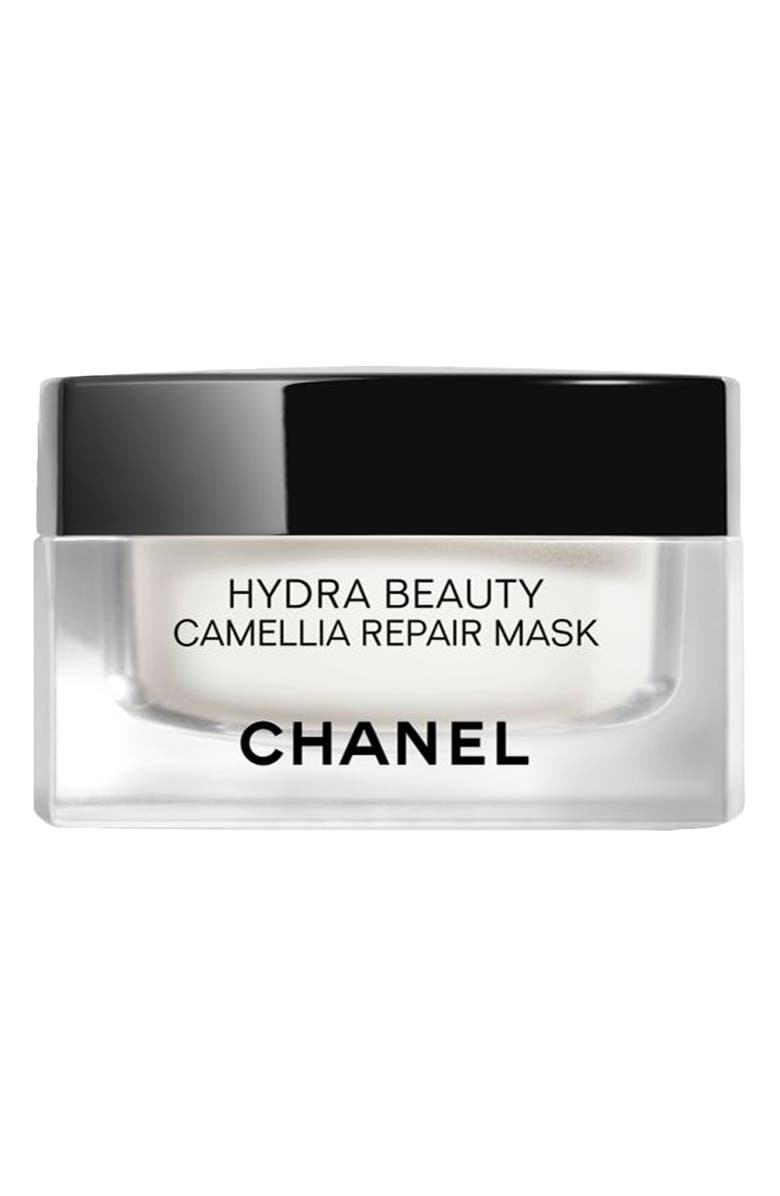CHANEL HYDRA BEAUTY CAMELLIA REPAIR MASK Multi-Use Hydrating Comfort Mask, Main, color, NO COLOR