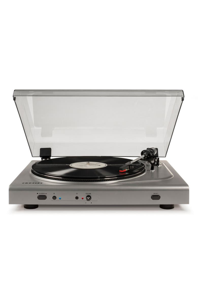CROSLEY RADIO T300A Bluetooth Turntable, Main, color, 040