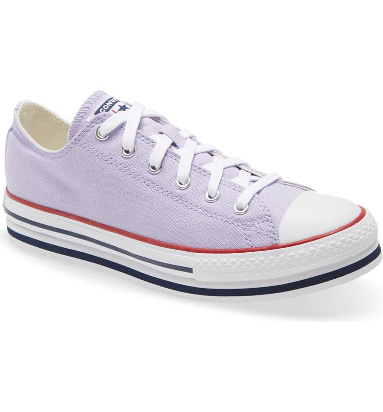 CONVERSE Chuck Taylor<sup>®</sup> All Star<sup>®</sup> Low Top Platform Sneaker, Main, color, MOONSTONE VIOLET