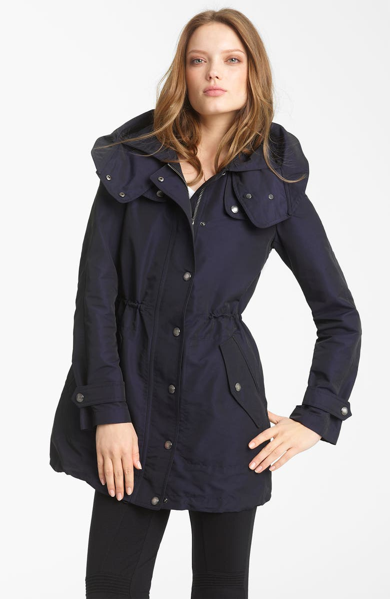 BURBERRY BRIT Hooded Anorak with Detachable Liner, Main, color, 400