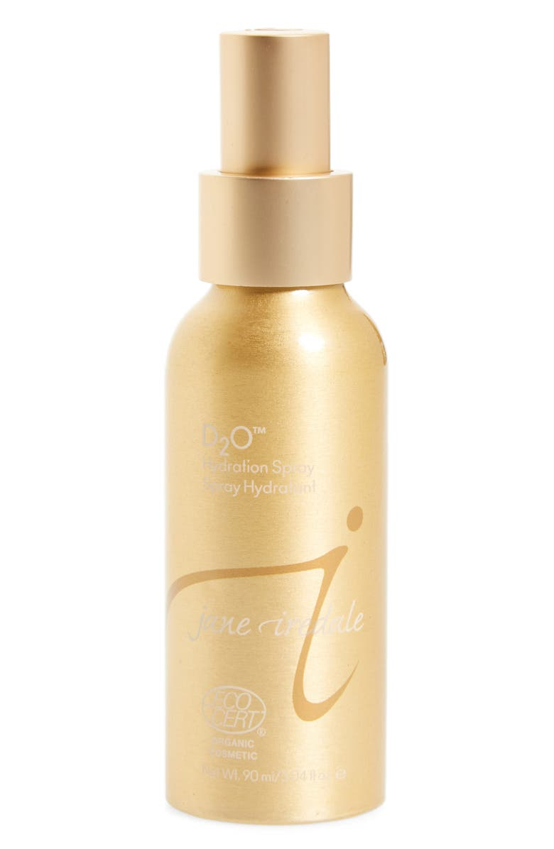JANE IREDALE 'D2O<sup>™</sup>' Hydration Spray, Main, color, Gold